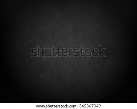 Black background. Blackboard. - stock photo