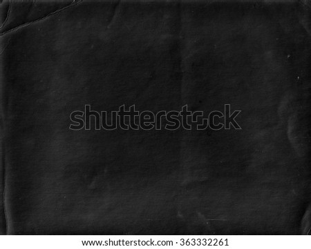 Black background. Chalkboard