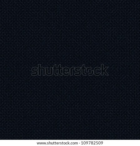 black background fabric texture with delicate grid pattern - stock photo