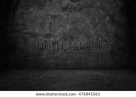 Black background. Grunge texture