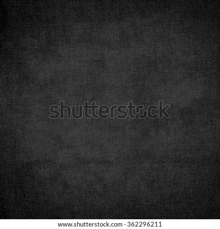 black background old paper texture canvas fabric - stock photo