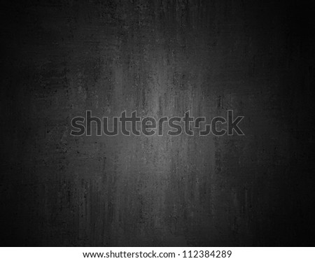 black background or gray background with abstract vintage grunge background texture or black and white background in monochrome color print, spotlight dark gray background template or web brochure ad - stock photo
