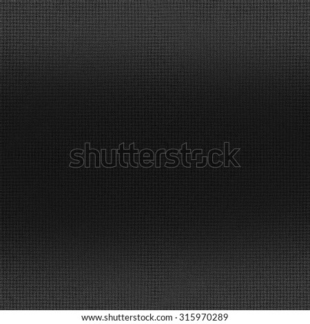 black background woven fabric texture  - stock photo