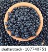 black beans - stock photo