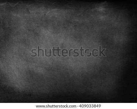 Black blackboard slate with nothing on it - stock photo