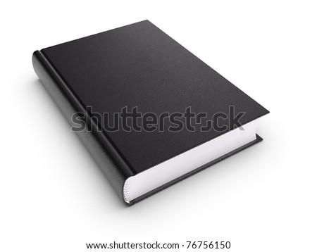 Black Book - stock photo
