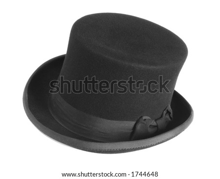 Black Bowler Hat - stock photo
