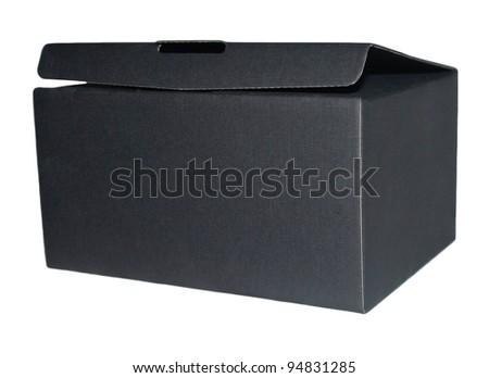 Black box - stock photo