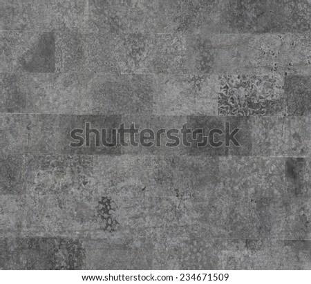 black brick stone texture - stock photo