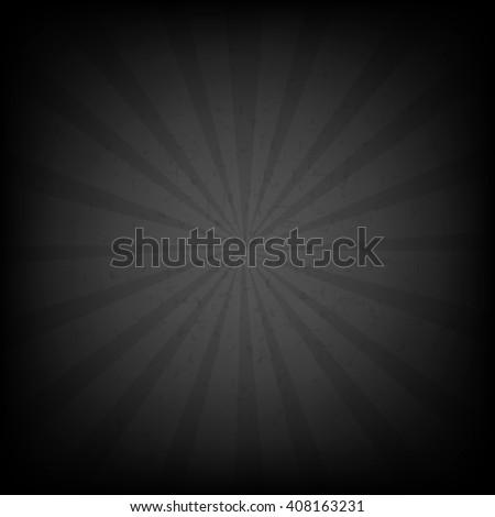Black Burst Grunge Background  - stock photo