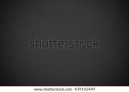 black canvas texture or grid pattern abstract background