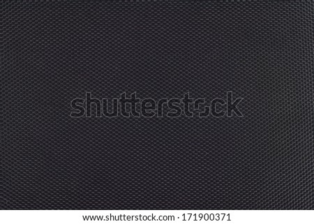 black canvas with delicate grid to use as background or texture