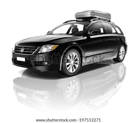Black Car - stock photo
