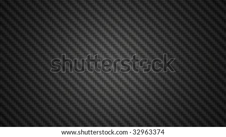 Black carbon fiber background texture illustration in widescreen 16x9 aspect ratio. - stock photo