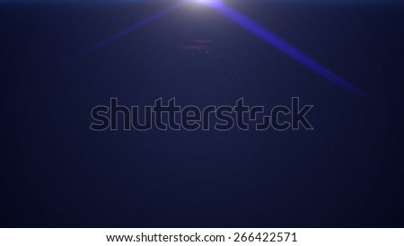 Black carbon seamless pattern with hexagons as textured abstract background with lens flares - stock photo