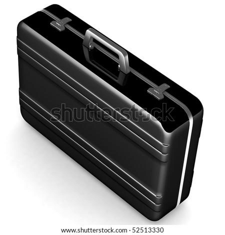 Black case - stock photo