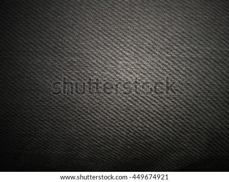 Black Cloth Texture, Dark jeans fabric