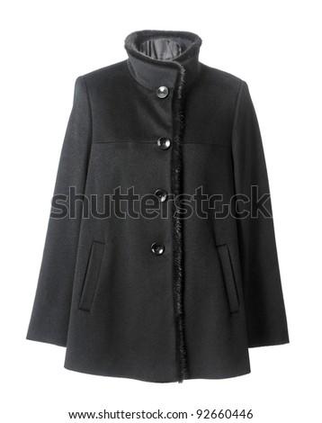 black coat - stock photo