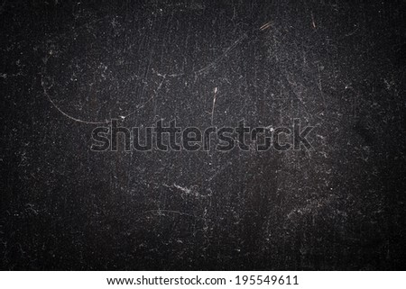 Black Dust and Scratches Background - stock photo