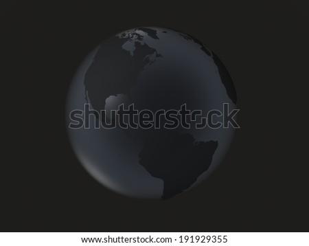 black earth america - stock photo