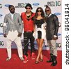 "Black Eyed Peas - Will.I.Am, Stacy ""Fergie"" Ferguson, Taboo & Apl.de.Ap, at the 2010 BET Awards at the Shrine Auditorium, Los Angeles. June 27, 2010  Los Angeles, CA Picture: Paul Smith / Featureflash - stock photo"
