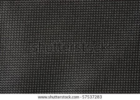 Black fabric details - stock photo