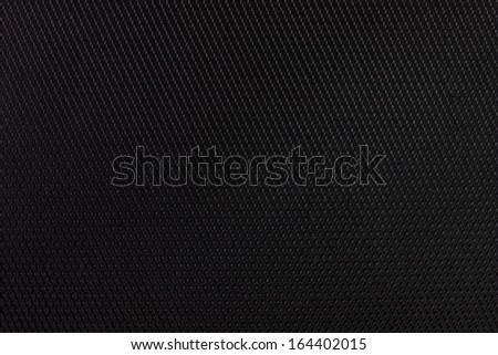 Black fabric texture detail photo