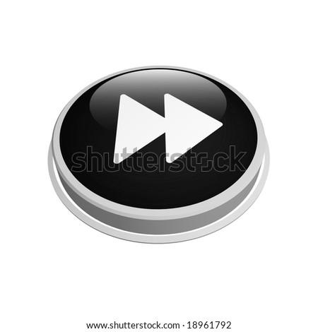 Forward Button Image Black Fast Forward Button