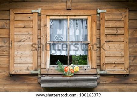 Black Forest Window - stock photo