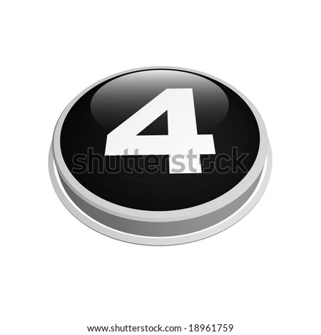 black four number button