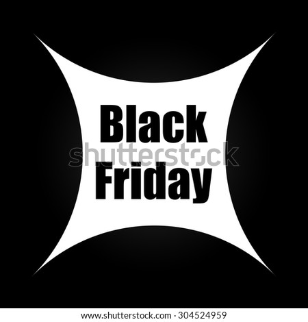 black friday banner - stock photo