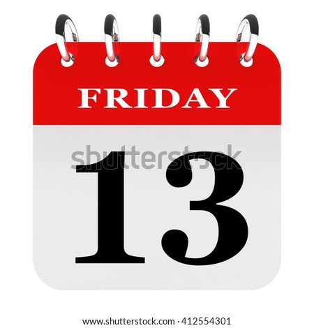 Black Friday 13th - stock photo