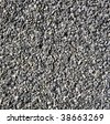 Black gravel texture - stock photo