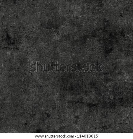 Black grunge background - stock photo