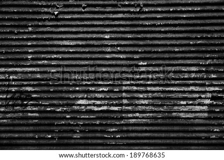 black grunge blind - stock photo