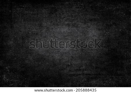 black grungy texture from dust and scratches.  - stock photo
