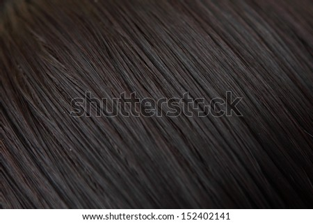 Black hair background