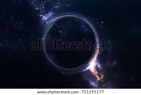 Black Hole Science Fiction Wallpaper Elements 751195177