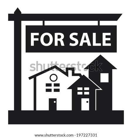 Black Home Apartment Building Condominium Or Real Estate For Sale