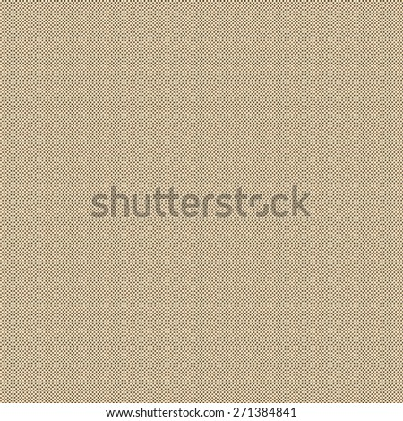 Black ink screen dots printed on vintage paper background - stock photo