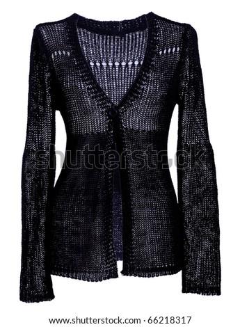 black jacket - stock photo