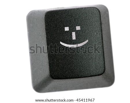 Black Keyboard Key Smiley Face Icon Stock Photo Edit Now Shutterstock