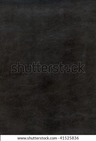 black leather background textured with graining patterns - stock photo