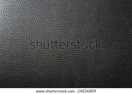Black leather 1 - high resolution - stock photo