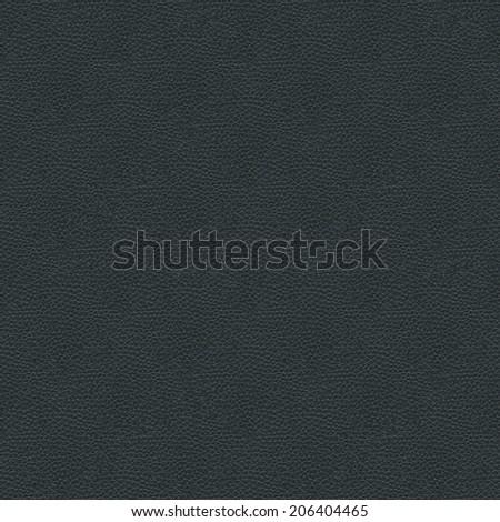 Black Leather Seamless Pattern Texture - stock photo