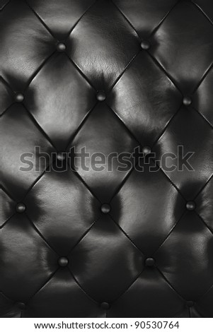 Black leather texture decorate background