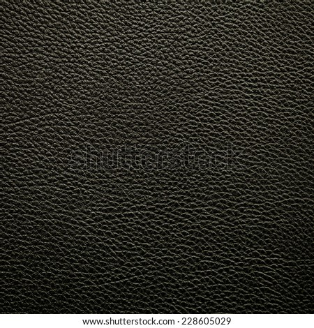 black leatherette texture - stock photo