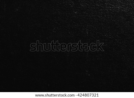 Black leatherette texture useful as a background - stock photo