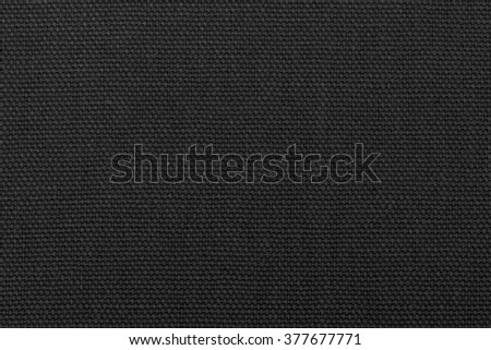 Black linen texture for background