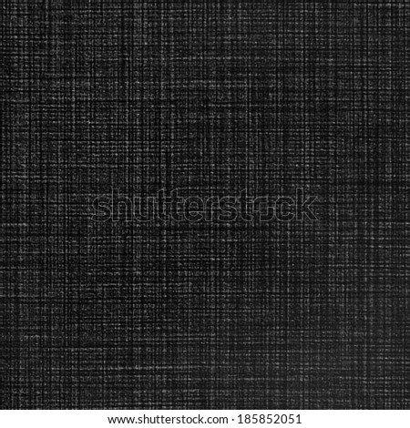 black linen texture or background - stock photo
